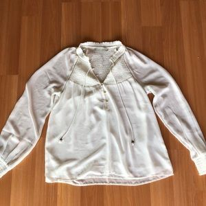 White Abercrombie Shirt Great Condition Size Small